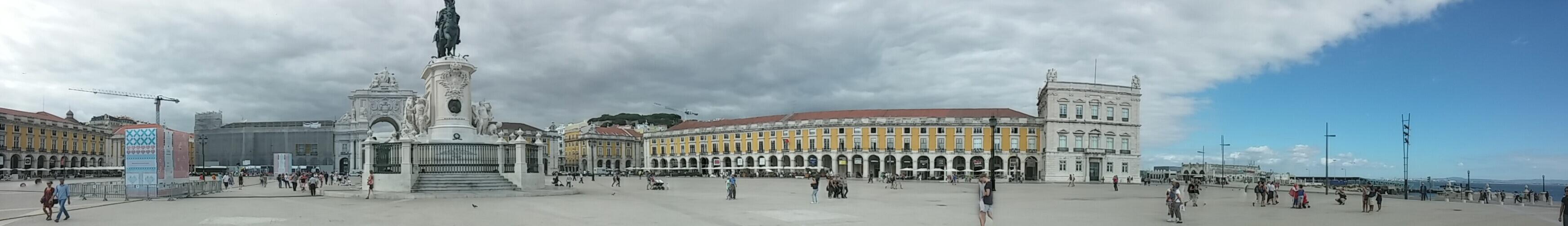 Rondreizen POrtugal Lissabon panorama