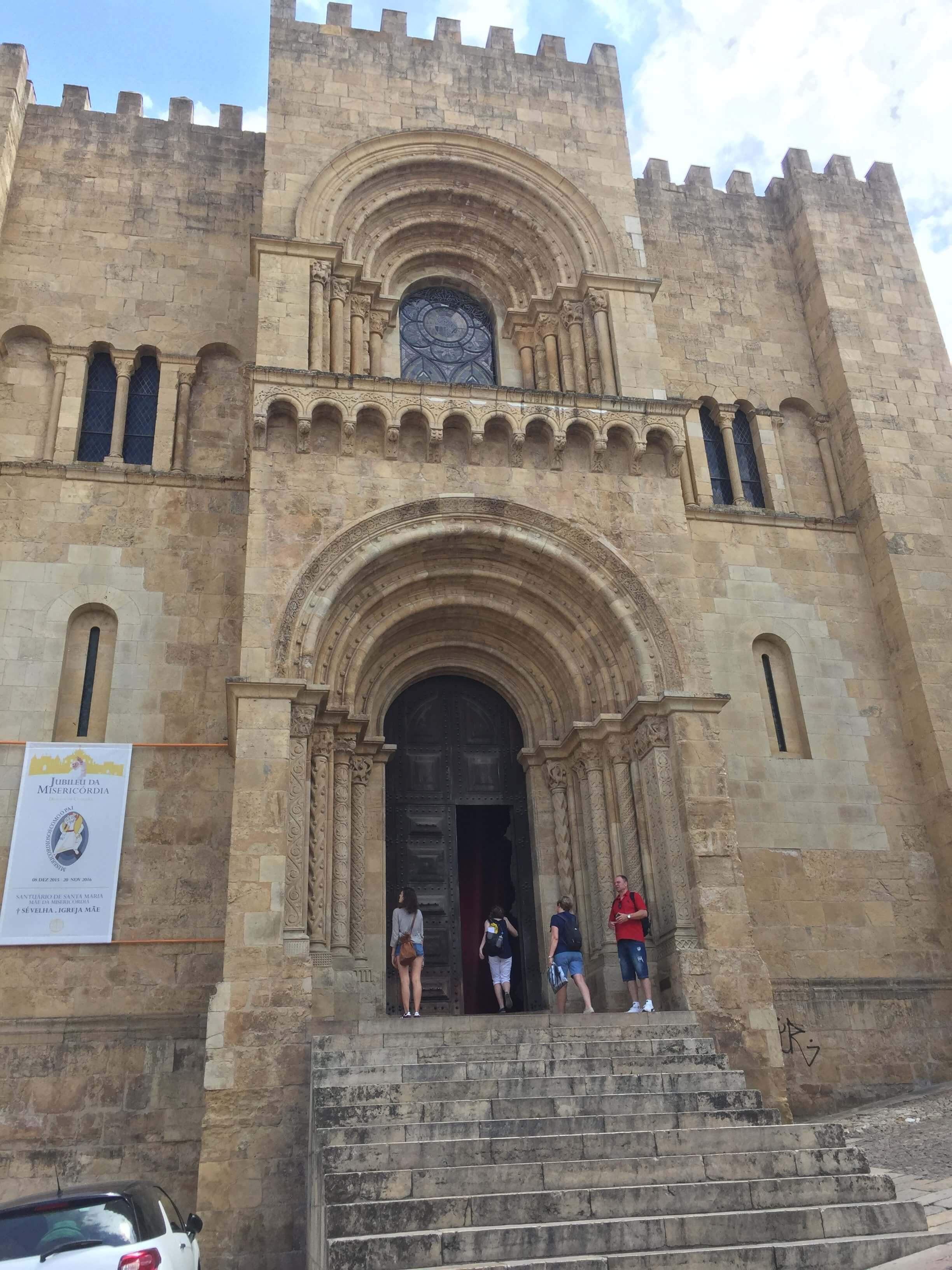 Rondreizen Portugal Coimbra Sé Velha 2