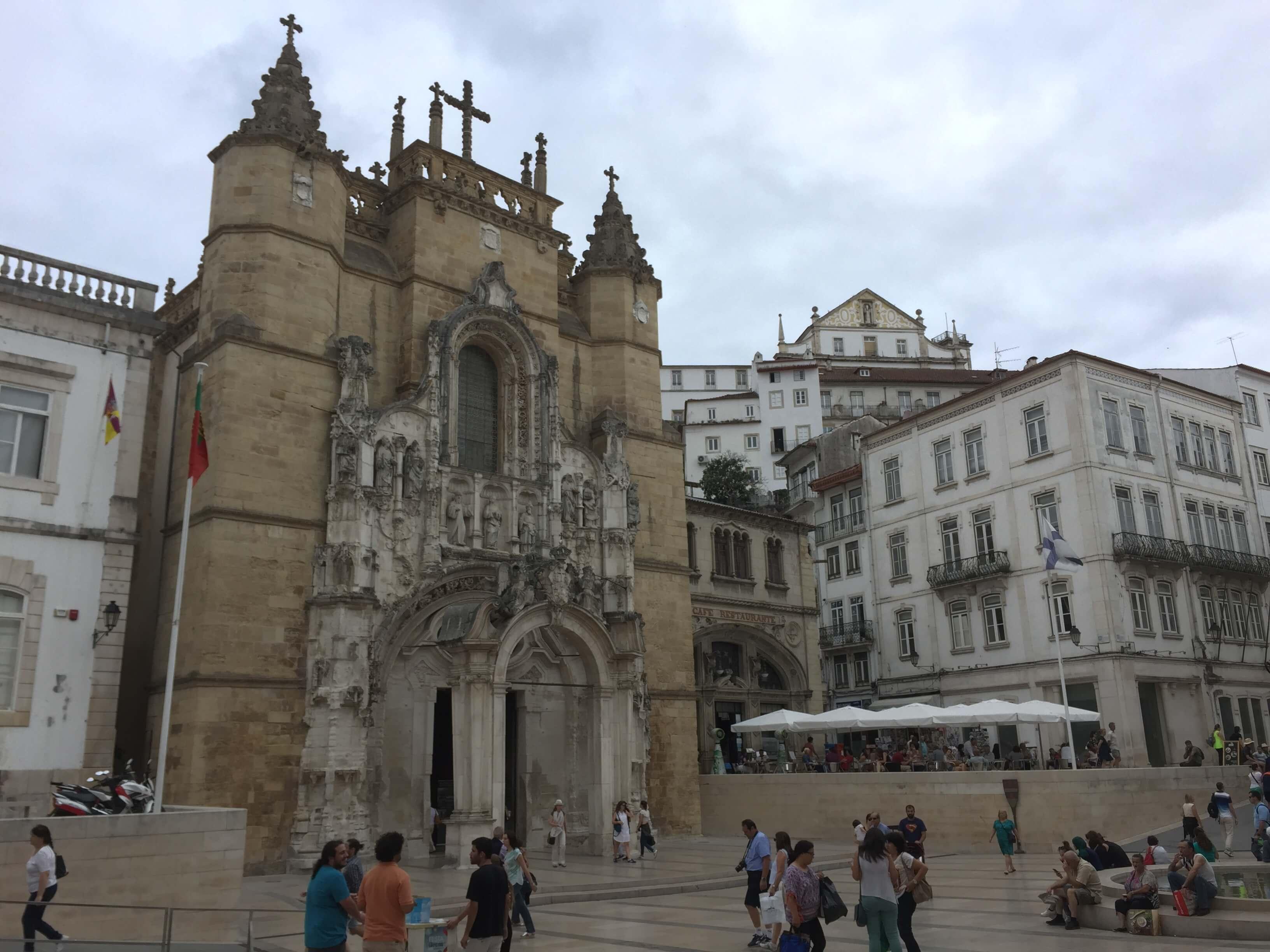 Rondreizen Portugal Coimbra kerk
