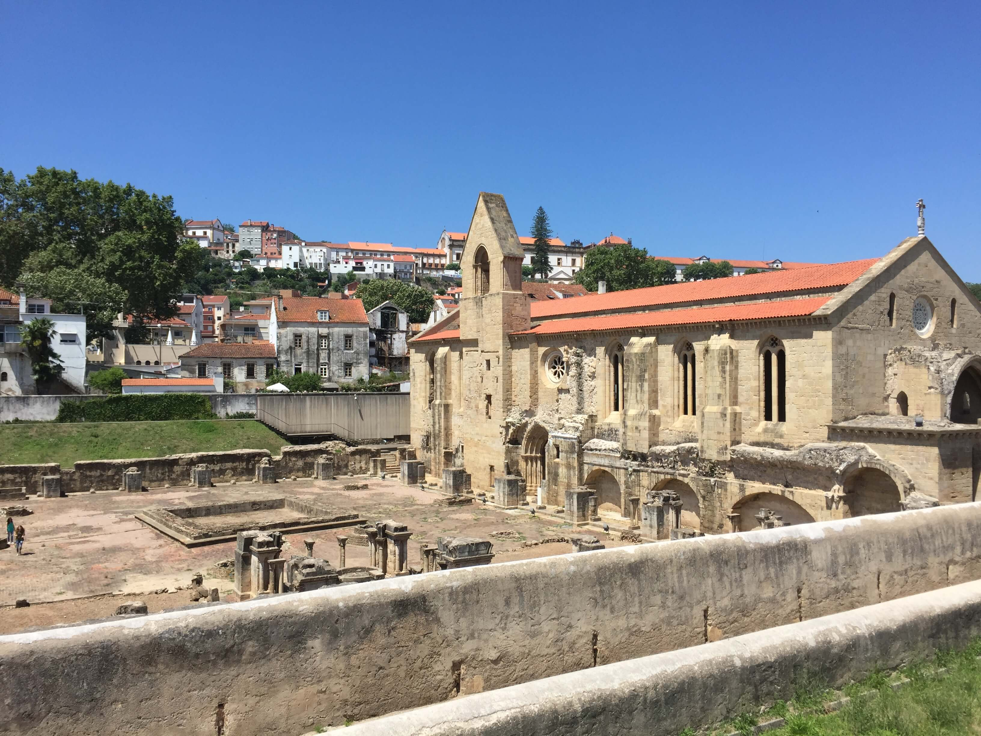 Rondreizen Portugal Coimbra ruine
