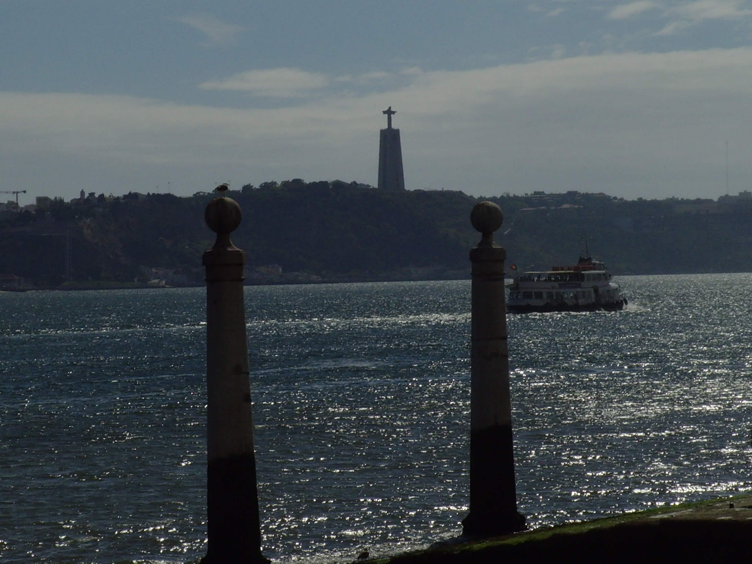 Rondreizen Portugal Lissabon christusbeeld avondzon