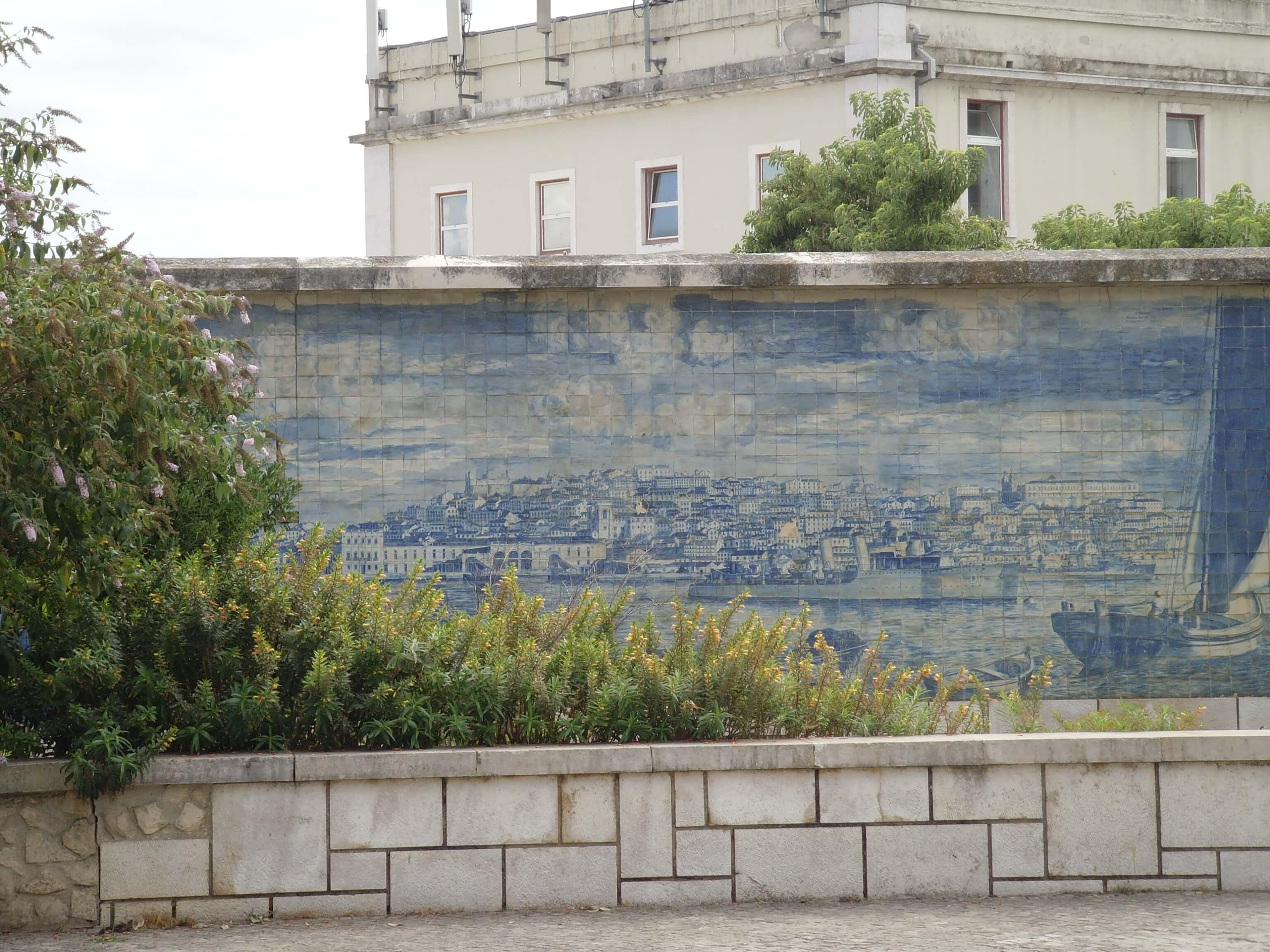 Rondreizen Portugal Lissabon mozaiek 2