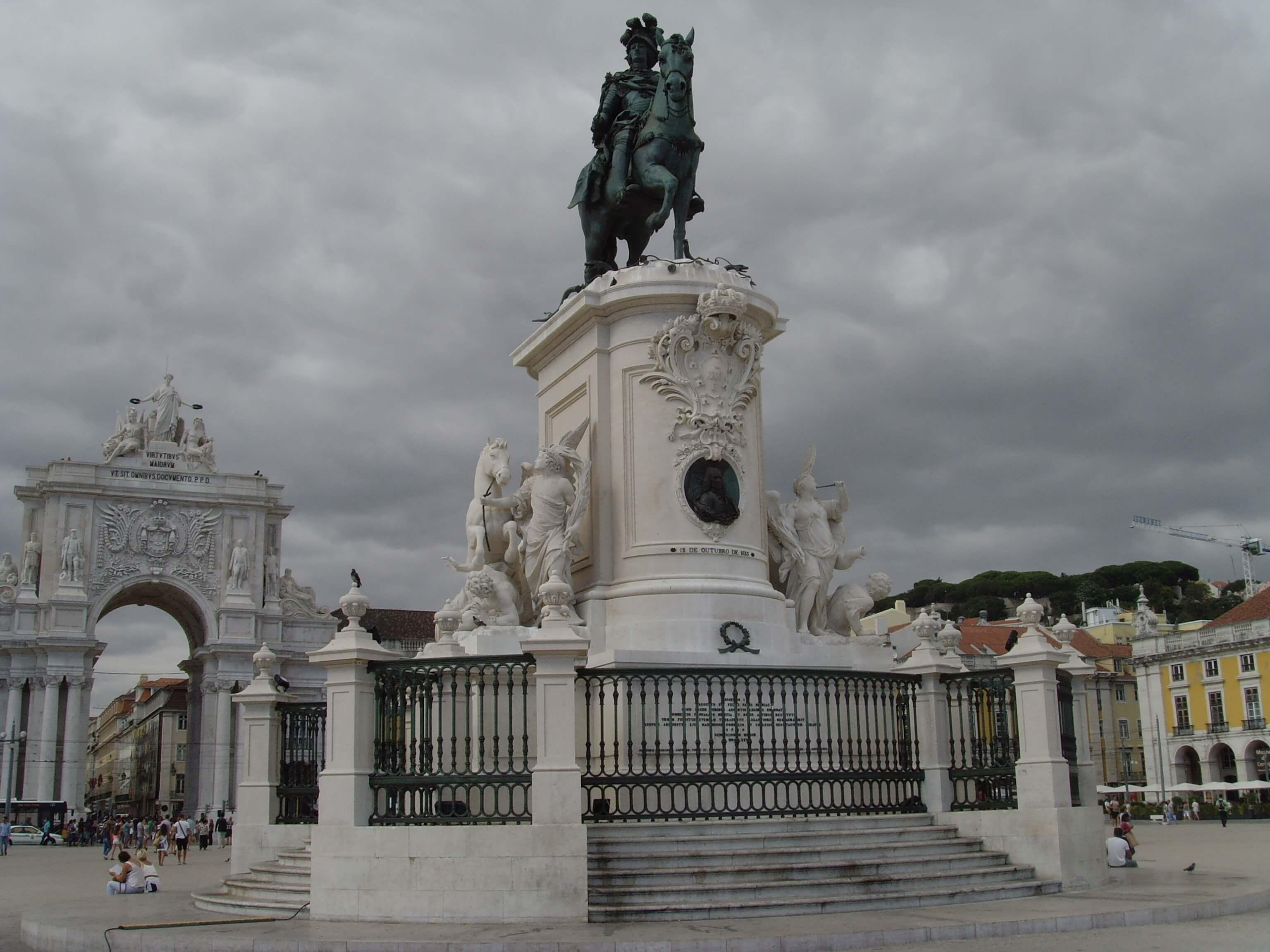 Rondreizen Portugal Lissabon plein