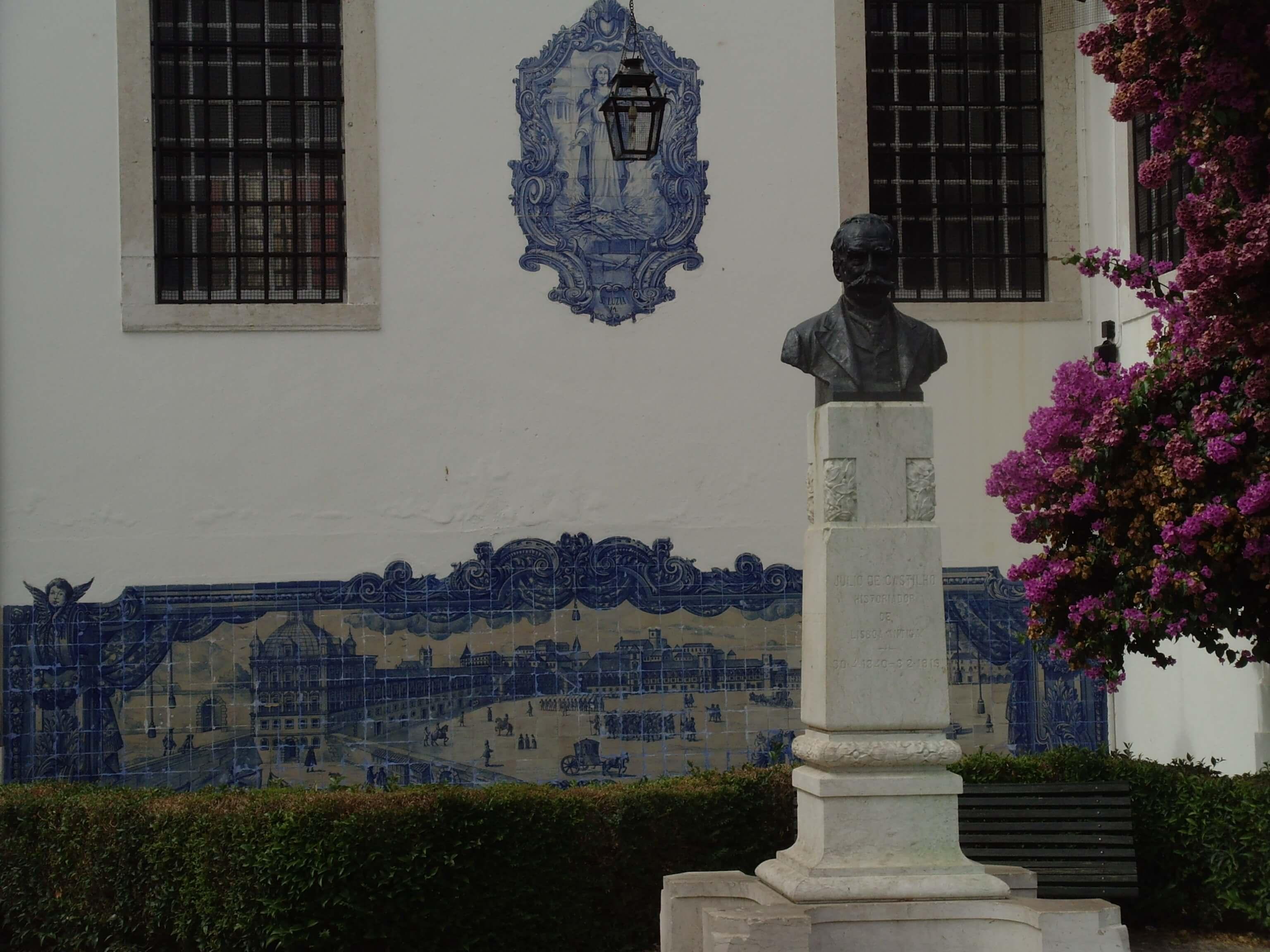Ronreizen Portugal Lissabon mozaiek