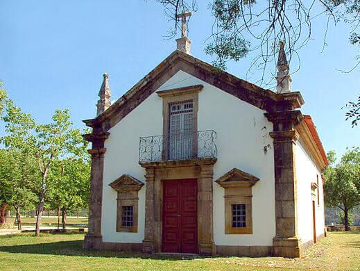 Arganil Montalto capela do Senhor da Ladeira