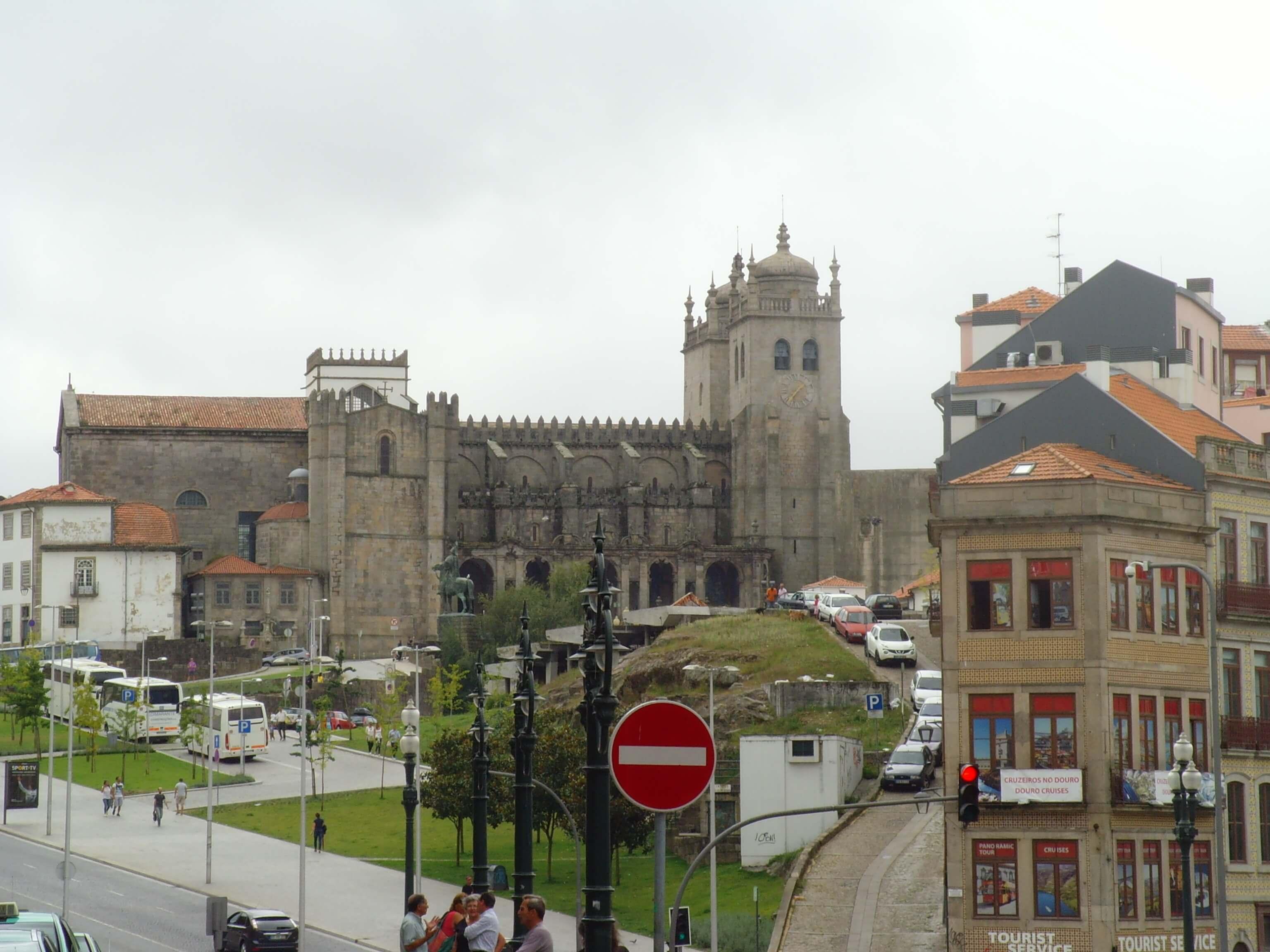 Clérigos kerk en toren Porto