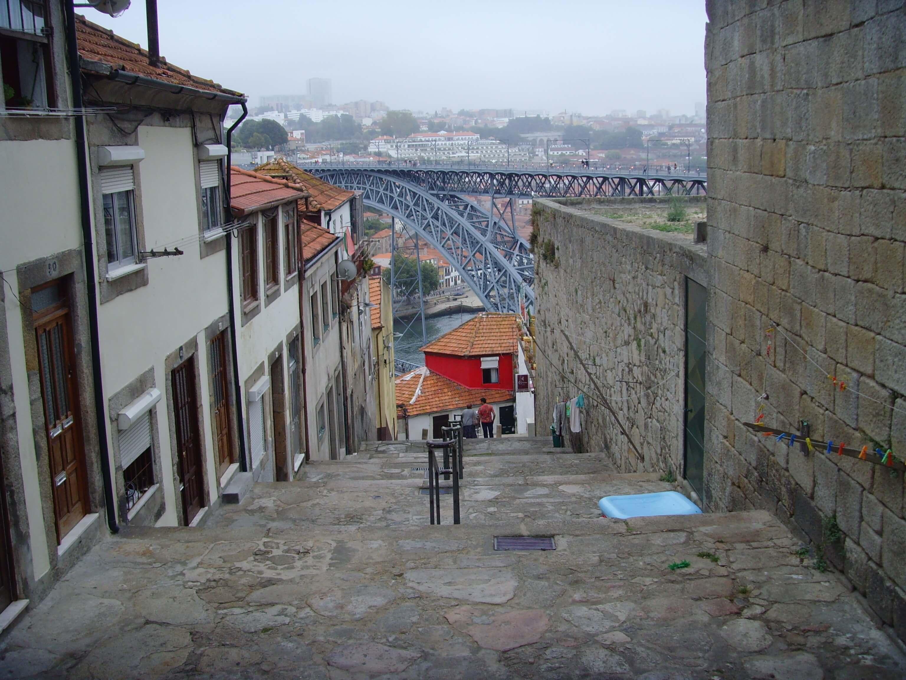 Rondreizen Portugal Porto trappen