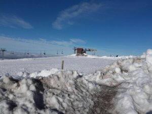 skieën in de Serra da Estrela, Midden Portugal