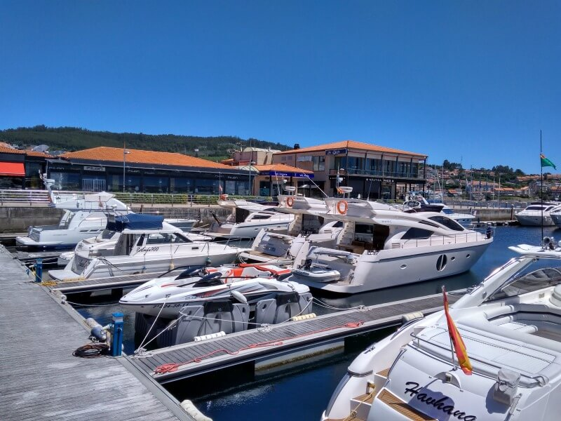 sanxenxo-jachthaven
