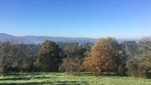 uitzicht van casa d'oliveiral